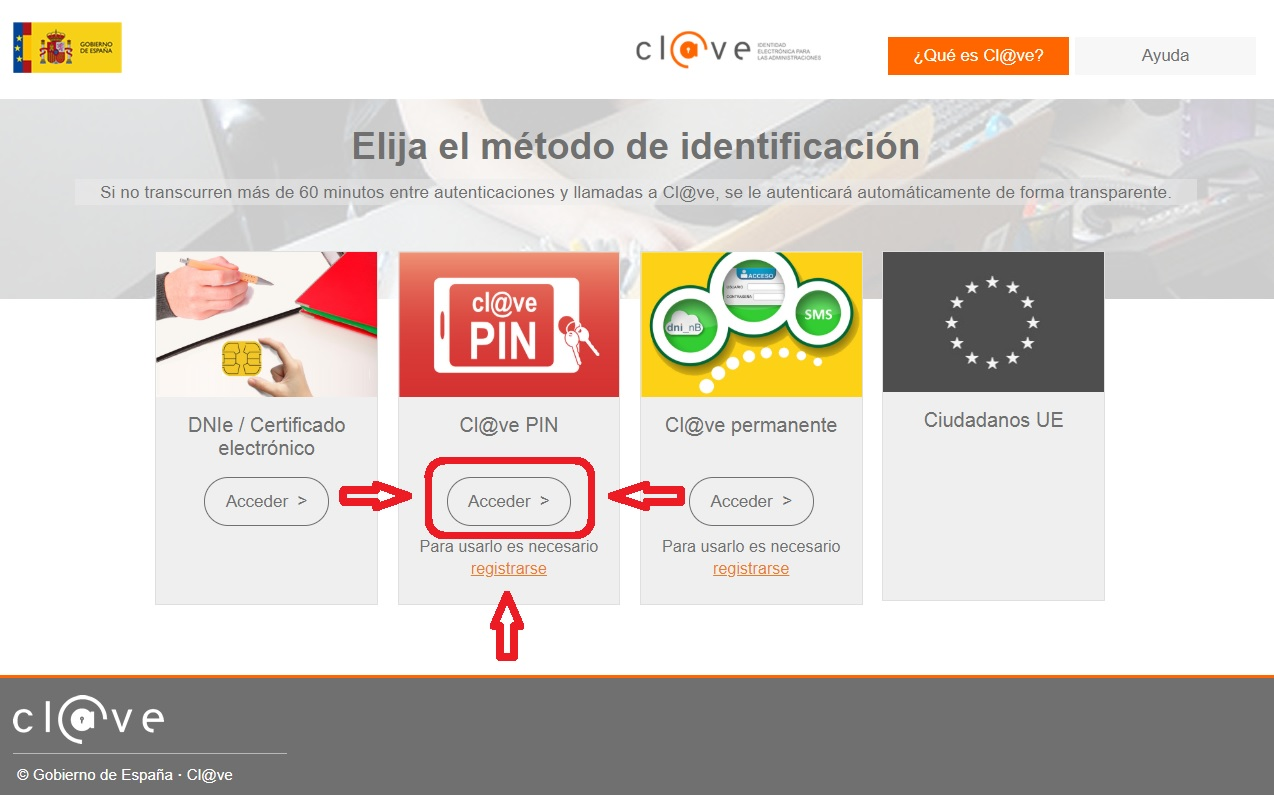 CLAVE PIN