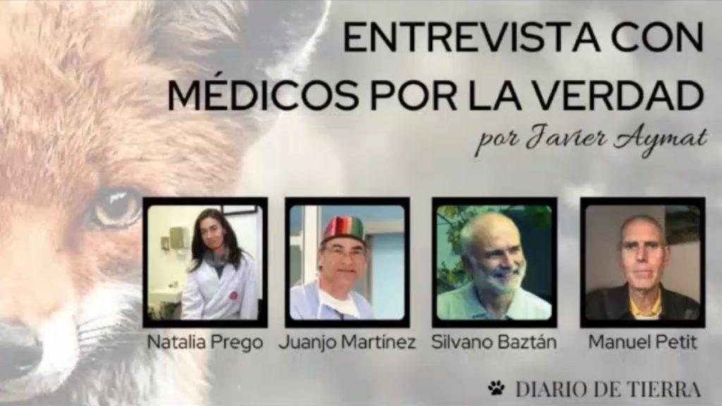 ENTREVISTA A MÉDICOS POR LA VERDAD