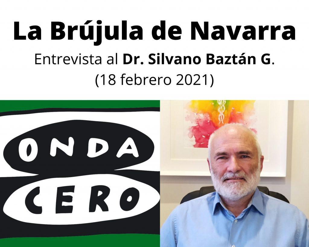 ONDA CERO ENTREVISTA AL DR. SILVANO BAZTÁN G.
