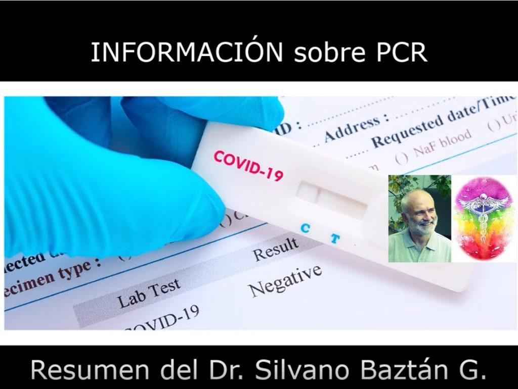INFORMACIÓN SOBRE LAS PCR - RESUMEN